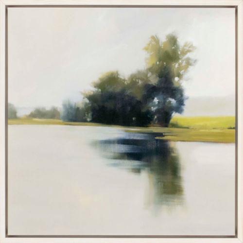 Water Bound Neutral Canvas