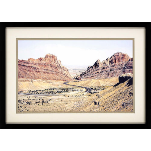 Red Canyon Neutral Framed Art