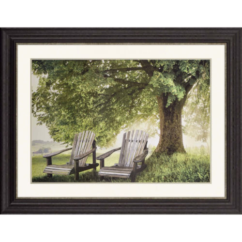 Made in the Shade Green Framed Art