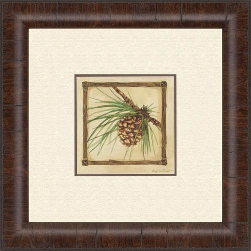 Paragon Pinecone By Roberts: 20 X 20 Inch Wall Art 1295 | Bellacor