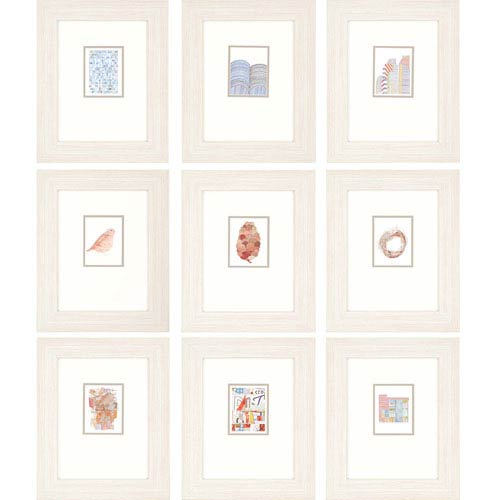Paragon City By Peake: 18 X 15 Inch Framed Wall Art, Set Of Nine ...