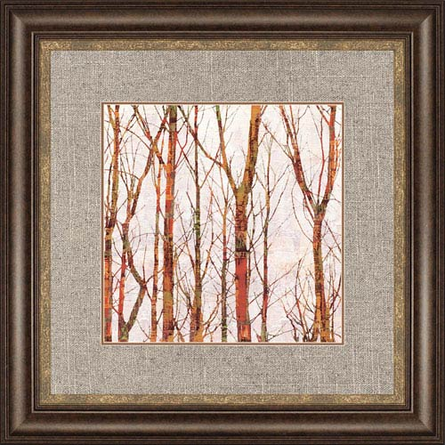 Paragon Though the Trees I by Webster: 37 x 37-Inch Framed Wall Art