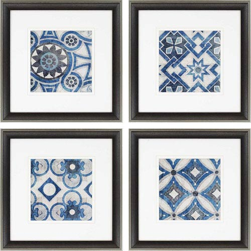Paragon Persian Jewels By Yamada: 23 X 23 Inch Framed Wall Art, Set ...