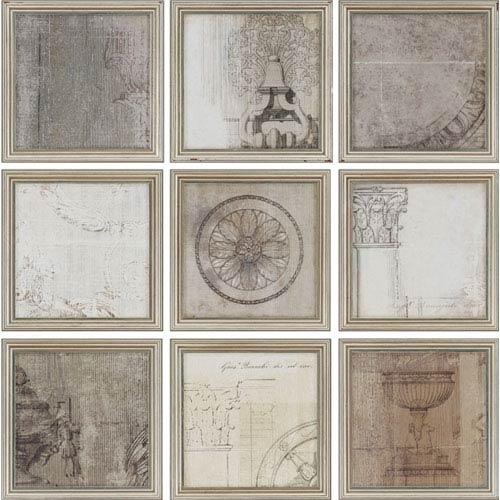 Time by Allison Pearce: 10 x 10 Framed Print, Set of Nine