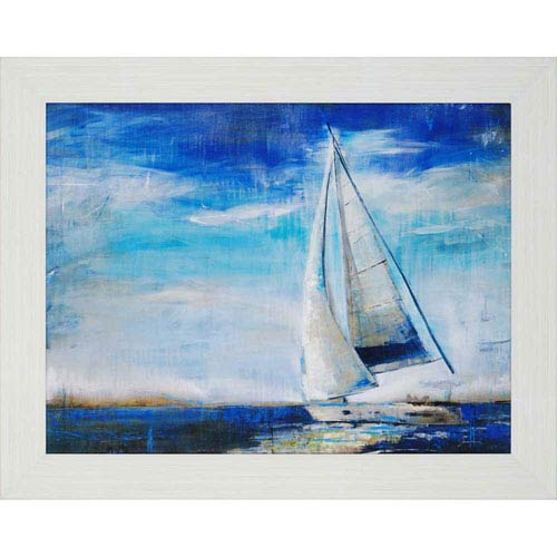 Paragon Sail Away by Jardine: 37 x 47-Inch Framed Wall Art