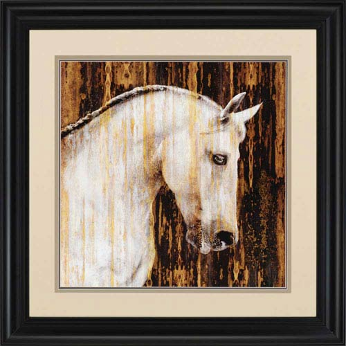 Paragon Horse II by Rose: 41 x 41-Inch Framed Wall Art