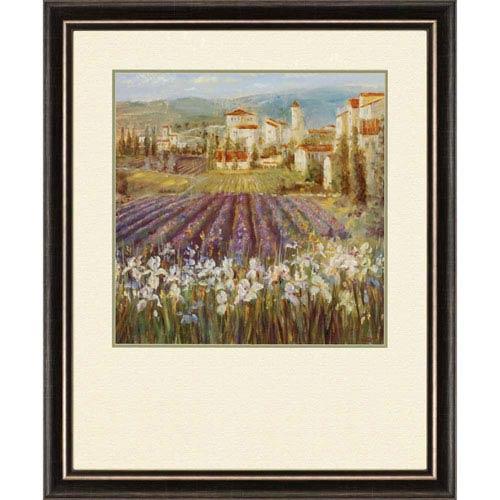 Paragon Provencial Village I by Longo: 36 x 30-Inch Framed Wall Art