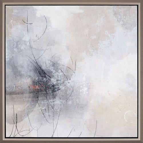 Paragon Silver Linings II By Nicoll: 34 H X 34 W Inch Framed Art ...