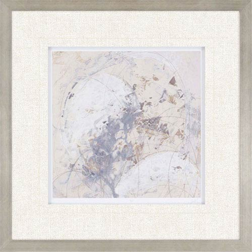 Paragon Impasto Gesture IV by Vess: 31 H x 31 W-Inch Framed Art