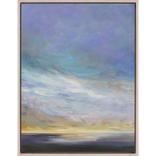 Paragon Coastal Clouds II by Finch: 41 H x 31 W-Inch Canvas Oil Wall Art