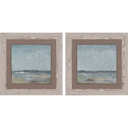 Paragon Cape Cod by Pinto: 19 H x 19 W-Inch Framed Art , Set of Two
