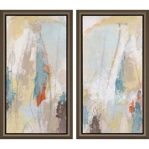 Paragon Plaster Sketch by Vess: 33 H x 18 W-Inch Framed Art , Set of Two