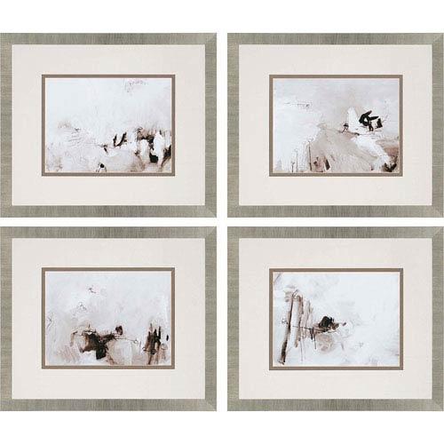 Perception by Sayilir: 24 x 28-Inch Framed Wall Art, Set of Four