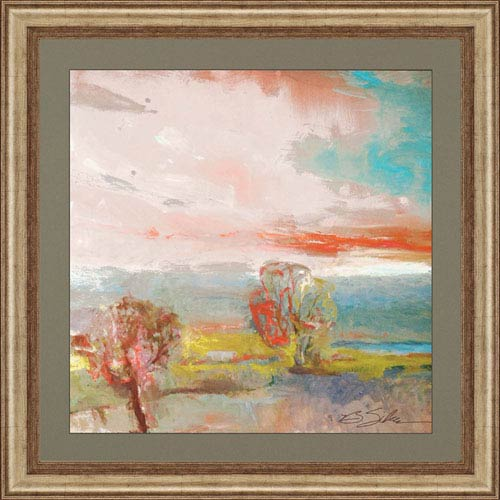 Paragon After the Rain by Sikes: 38 x 38-Inch Framed Wall Art