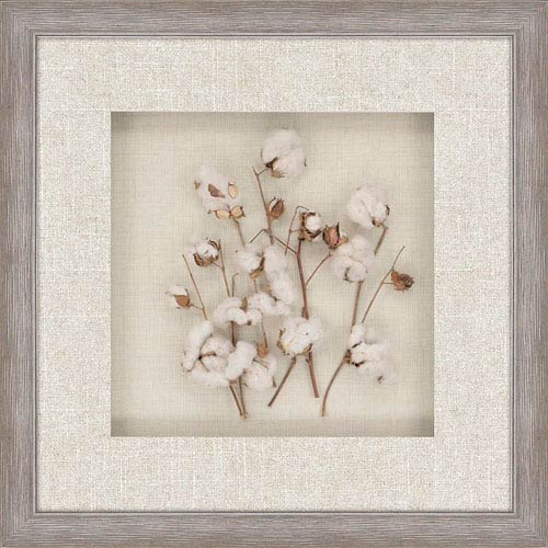 Cotton Field by Unknown: 32 x 32-Inch Wall Art