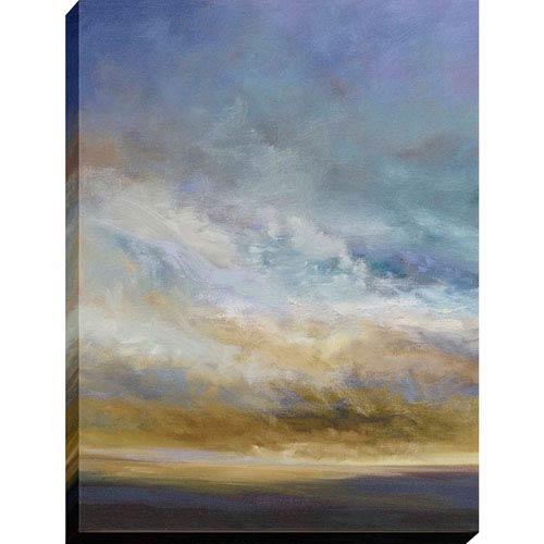 Coastal Clouds I By: Finch, 40 x 30 In. Oil Canvas