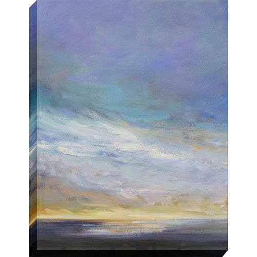 Coastal Clouds II By: Finch, 40 x 30 In. Oil Canvas