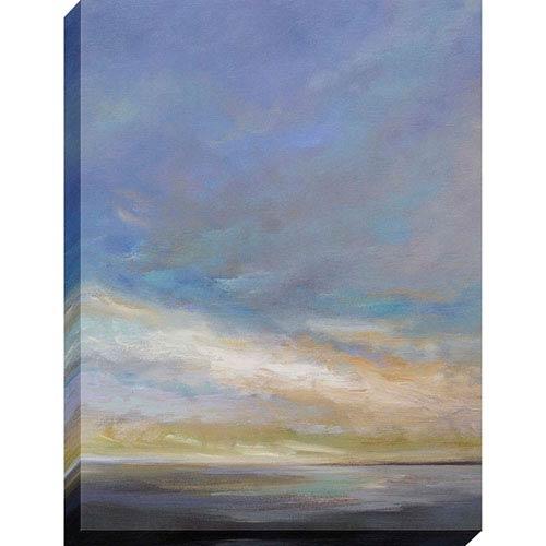 Coastal Clouds III By: Finch, 40 x 30 In. Oil Canvas