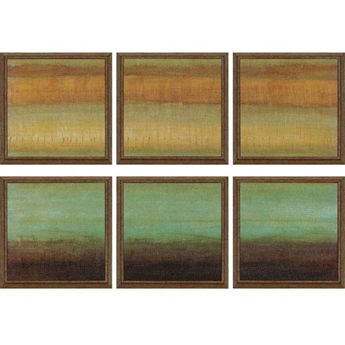 Paragon Layered Details by Hibberd: 15 x 15-Inch Framed Wall Art, Set of Six
