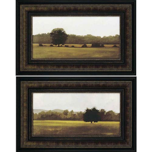 Paragon Resting/Silent by Lightell: 21 x 33 Deluxe Framed Print, Set of Two