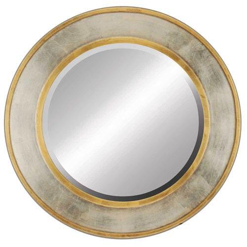 Paragon Gold And Silver Round Mirror 8609 Bellacor