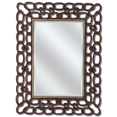 Copper Rectangle Mirror