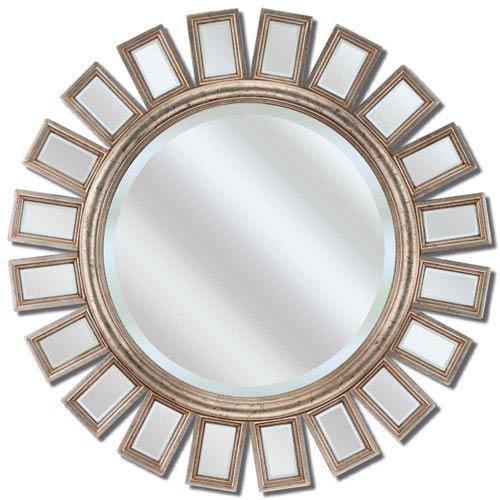 Paragon Silver Round Metro Mirror
