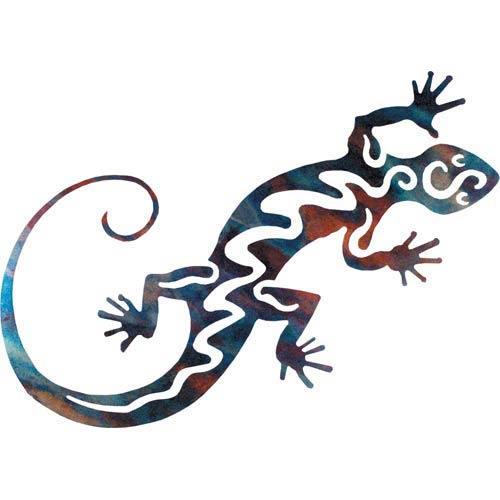 18-Inch Gecko Wall Art