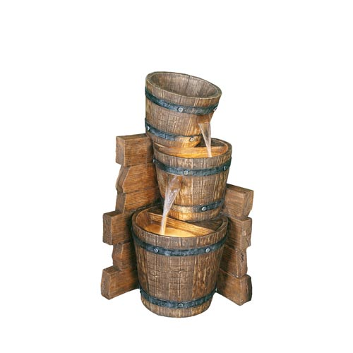 Bond Manufacturing Lazy Days II 27.5-Inch Rustic Western Fountain