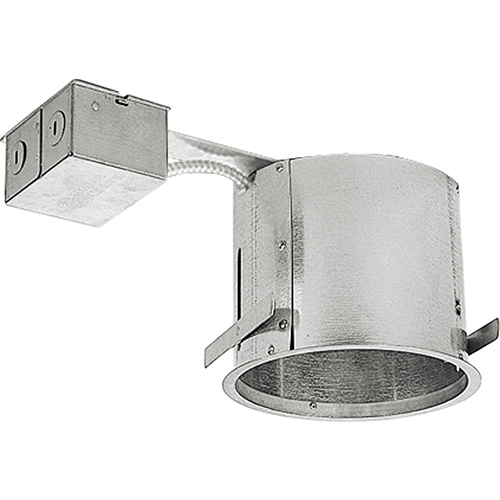P186-TG: Unfinished 15-Inch One-Light Recessed Housing