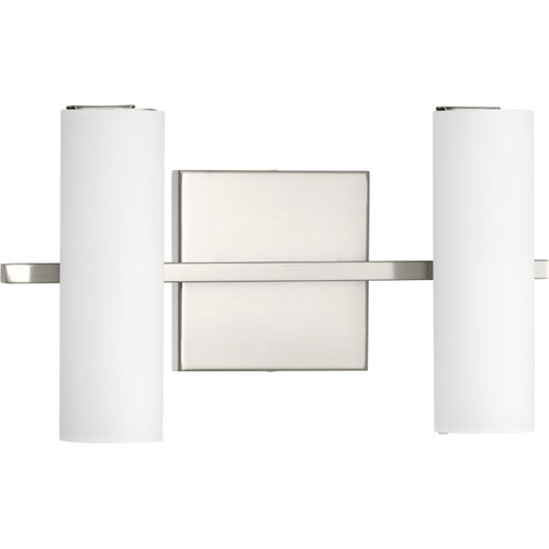 P300186-009-30: Colonnade LED Brushed Nickel Two-Light ADA Bath Vanity