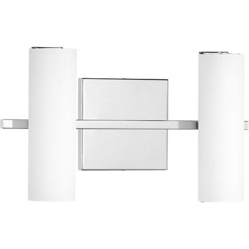 P300186-015-30: Colonnade LED Polished Chrome Two-Light ADA Bath Vanity