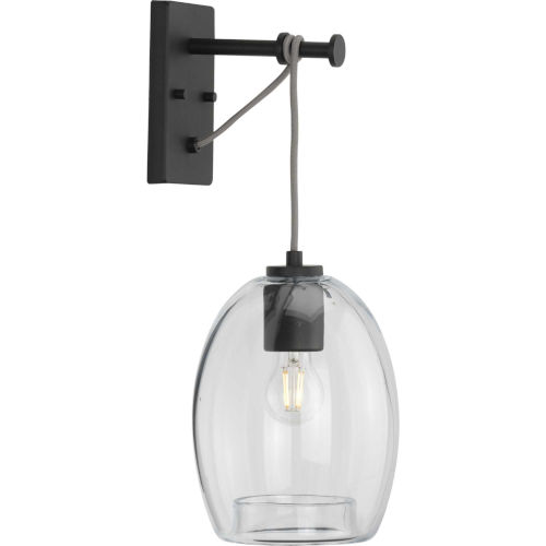 Caisson Graphite Eight-Inch One-Light ADA Wall Sconce