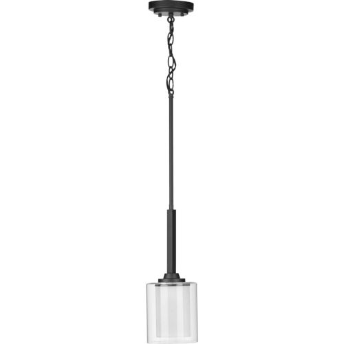 Kene Graphite Six-Inch One-Light Mini Pendant