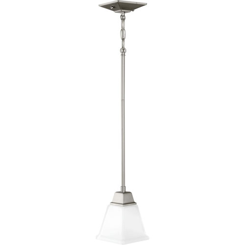pendant lighting shades only kitchen p500125009 clifton heights brushed nickel onelight minipendant glass shades only mini pendant lighting bellacor