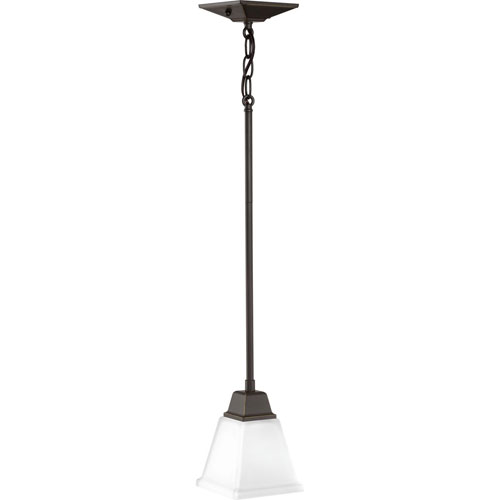 P500125 020 Clifton Heights Antique Bronze One Light Mini Pendant