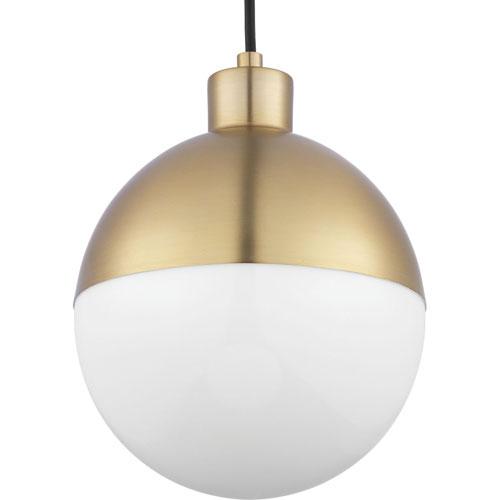 P500147-109-30: Globe LED Brushed Bronze Mini-Pendant