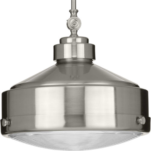 Loftin Brushed Nickel 15-Inch One-Light Pendant