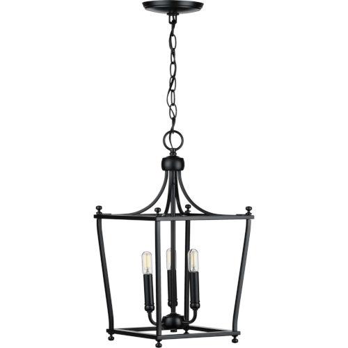 Parkhurst Black 11-Inch Three-Light Pendant