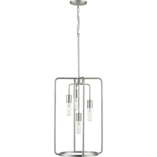 Bonn Galvanized 15-Inch Four-Light Pendant