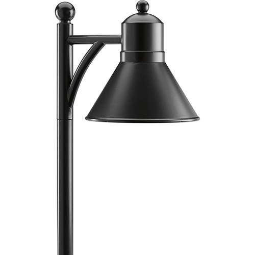 P5245-31: Black One-Light LED Landscape Path Light
