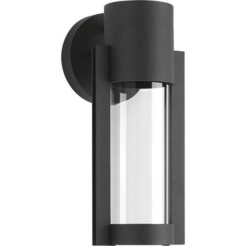 P560051-031-30: Z-1030 Black One-Light LED Energy Star Outdoor Wall Mount