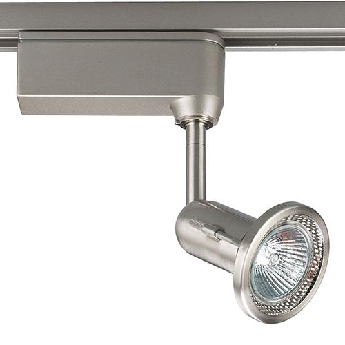 Progress Lighting P6104-09: Brushed Nickel One-Light Halogen Track Light Head