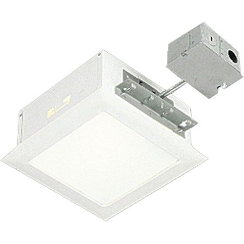 Progress Lighting P6416-30TG: White 12-Inch One-Light Recessed Housing