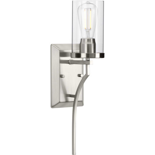 Lassiter Brushed Nickel Five-Inch One-Light ADA Wall Sconce