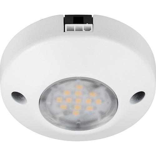 Progress Lighting P7510-30: Hide-a-Lite III White One-Light LED Undercabinet Puck Light