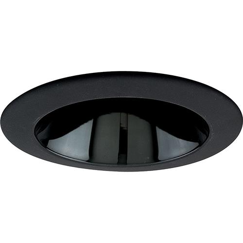 Progress Lighting P8049-31: Black Alzak Recessed Cone Trim