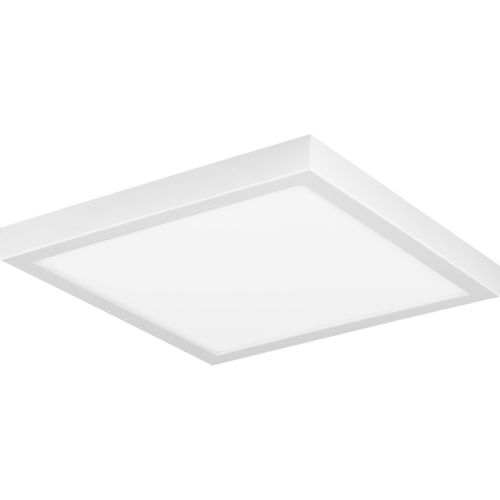 Everlume White 11-Inch LED Flush Mount with Diffused Shade