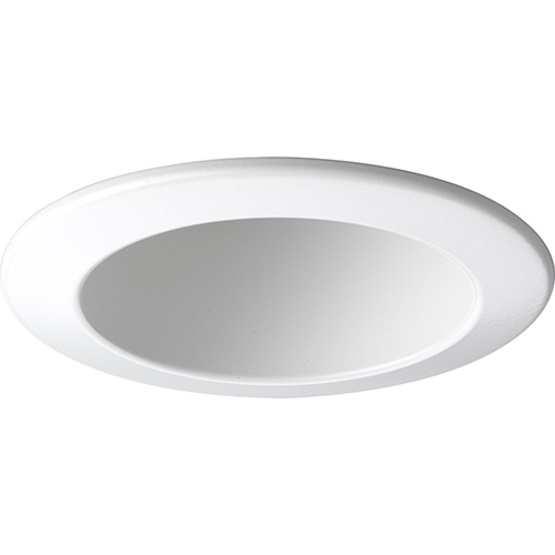 Progress Lighting P8145-28: White Recessed Open Trim