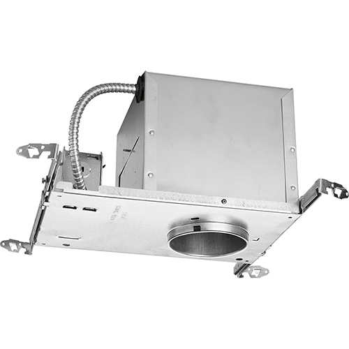 P831-AT: Unfinished Eight-Inch One-Light Recessed Housing